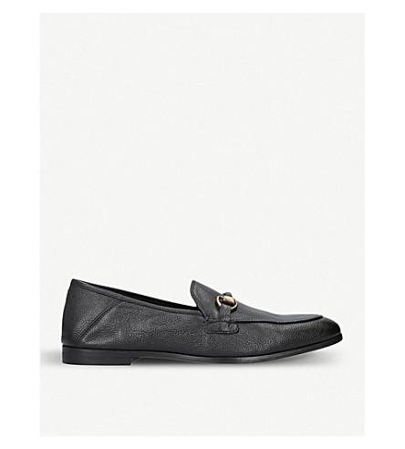 KURT GEIGER LONDON London leather loafers (Black