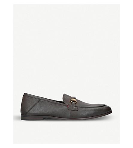 KURT GEIGER LONDON London leather loafers (Brown