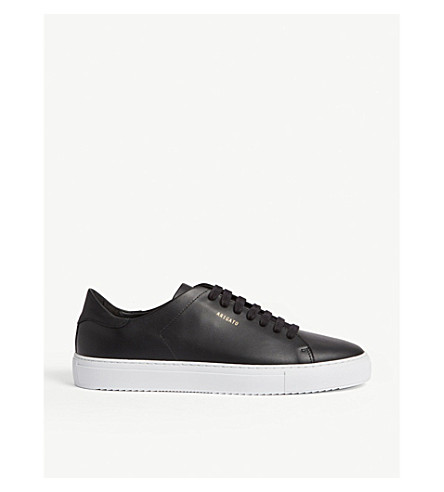 AXEL ARIGATO Clean 90 leather trainers (Blk/white
