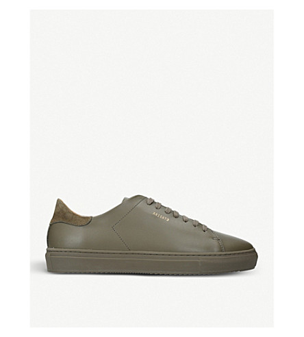 AXEL ARIGATO Clean 90 leather trainers (Khaki