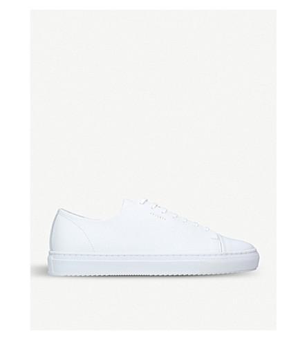 AXEL ARIGATO Toecap leather trainers (White