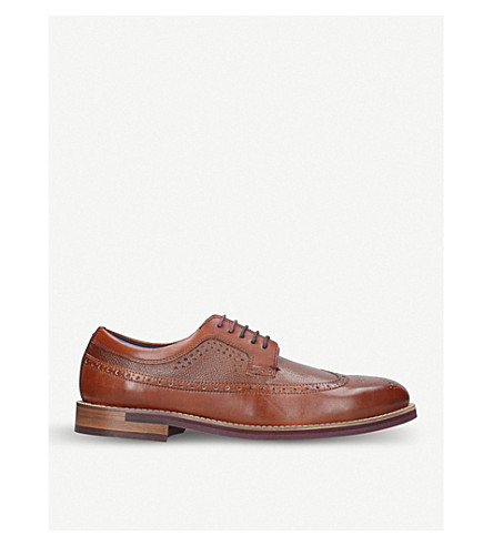 TED BAKER Deelani leather brogues (Tan