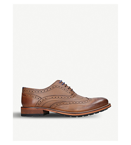 TED BAKER Guri 9 leather Oxford brogues (Tan