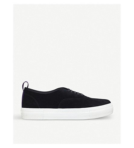 EYTYS Mother lace-up suede trainers (Black