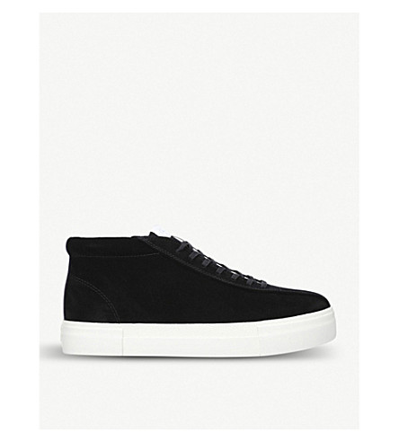 EYTYS Mother Mid suede trainers (Black