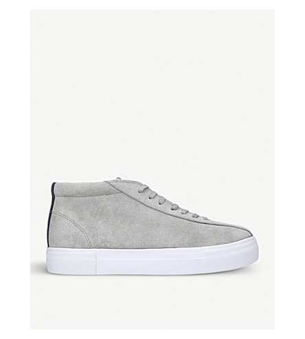 EYTYS Mother Mid suede trainers (Grey
