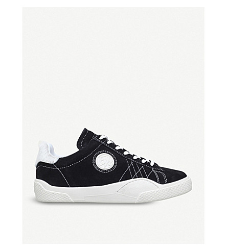 EYTYS Wave low-top suede trainers (Black