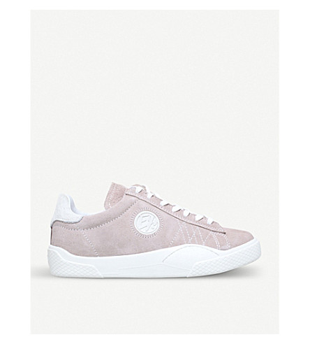 EYTYS Wave low-top suede trainers (Pale+pink
