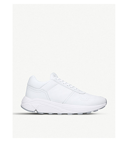 ETQ Delta Runner leather trainers (White