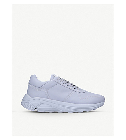 ETQ Delta Runner leather trainers (Grey