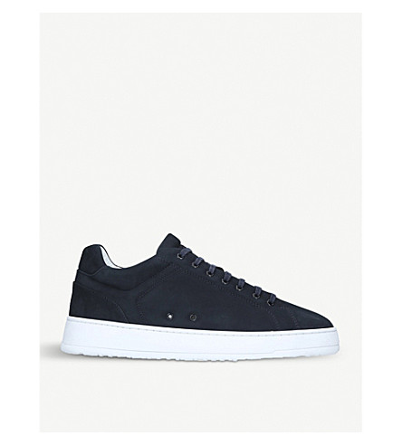 ETQ Essence Low 4 suede trainers (Blue