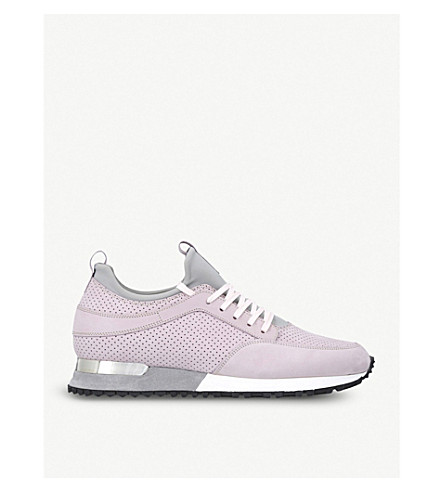 Buy Cheap Factory Outlet Buy Cheap Very Cheap MALLET Archway perforated suede and neoprene trainers Lilac xbvDhck