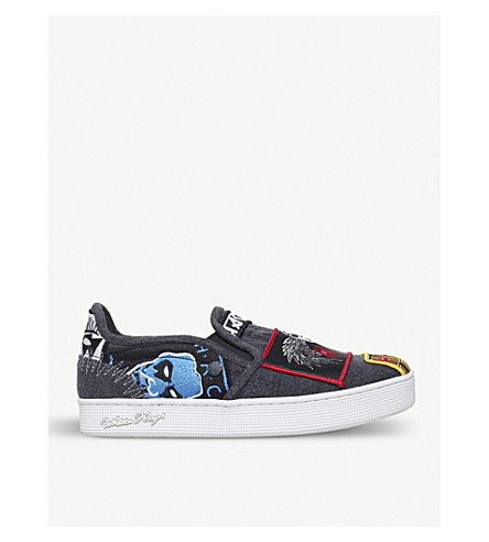HACULLA Rancid patch slip-on trainers (Mult/other