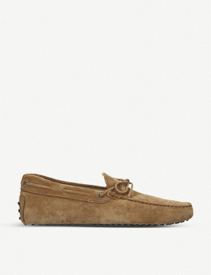TODS Gommino driving shoes in suede