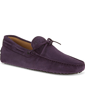 TODS Gommino heaven driving shoes in suede