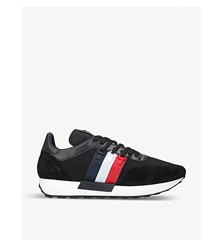 New Horace suede and textile trainers(1843300209)