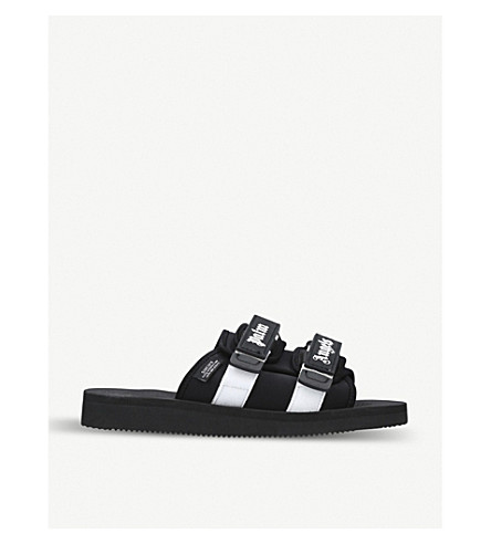 1d9419f1659e PALM ANGELS - Suicoke double-strap slide sandals