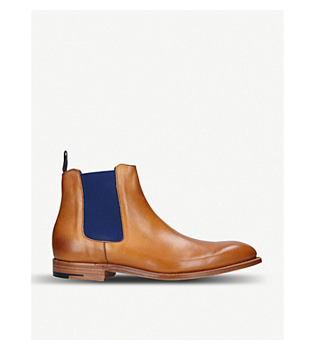 BARKER Hopper leather Chelsea boots (Tan