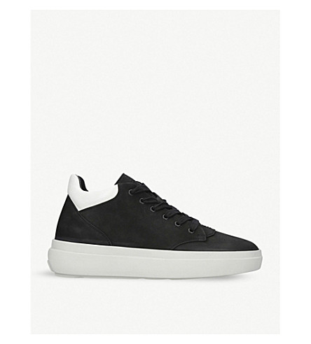 REPRESENT CLOTHING The Alpha Low suede trainers (Blk/white