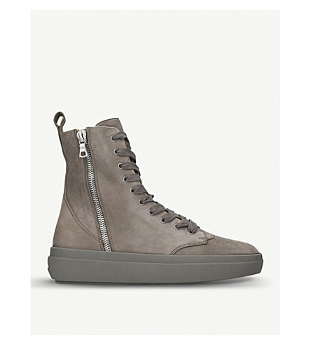 REPRESENT CLOTHING The Alpha Sneaker Boot suede trainers (Tan