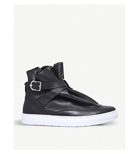 THE HIGHPAD Highpad leather sneakers (Blk/white