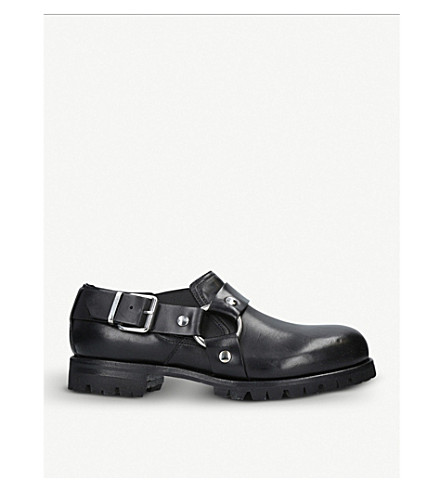 ALYX Chef Daddy leather shoes (Black