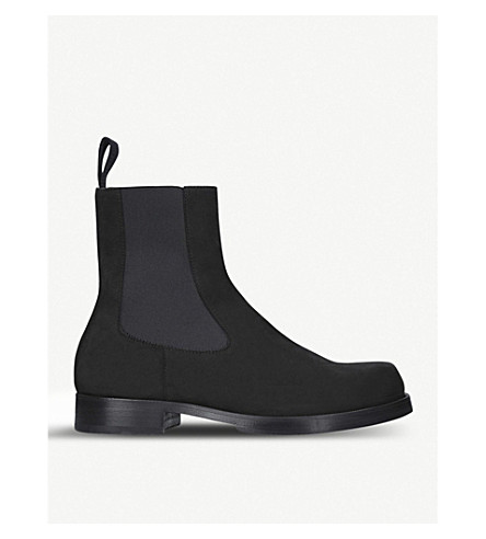 ALYX Suede chelsea boots (Black