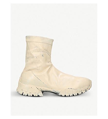 ALYX Laceless leather boots (Denim