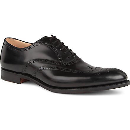CHURCH New York Oxford brogues (Black