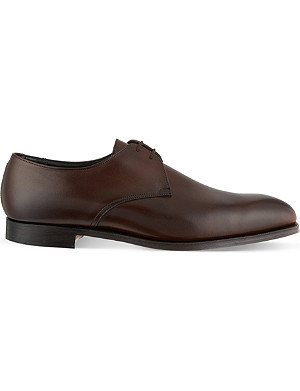 RICHARD JAMES Leather Derby shoes