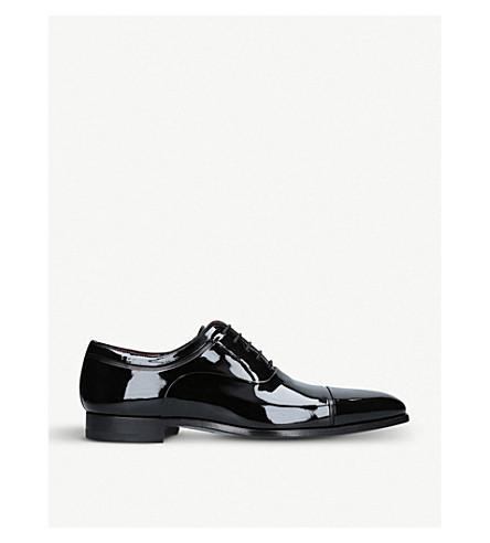 MAGNANNI Denali patent-leather oxford shoes