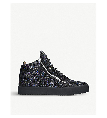 Glittered high-top trainers(690-10004-2069809019)