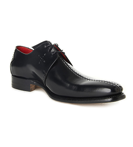 JEFFERY WEST Dashwood Derby shoes (Black