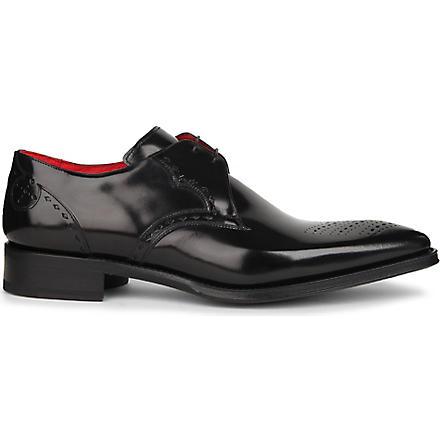 JEFFERY WEST Oreste Derby shoes (Black