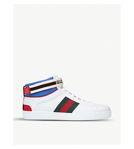 New Ace leather high-top trainers(2083310169)