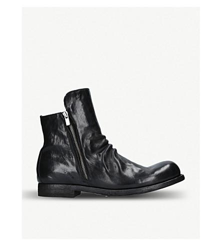 OFFICINE Black chelsea boots OFFICINE CREATIVE leather boots 45 leather chelsea OFFICINE 45 Black CREATIVE qYrqwpU