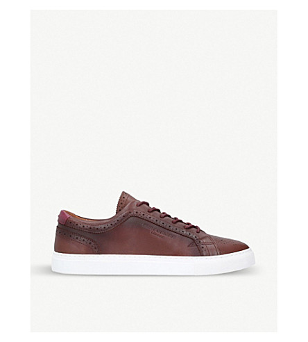 KURT GEIGER LONDON Theo leather sneakers