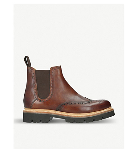 GRENSON Arlo Commando leather ankle boots