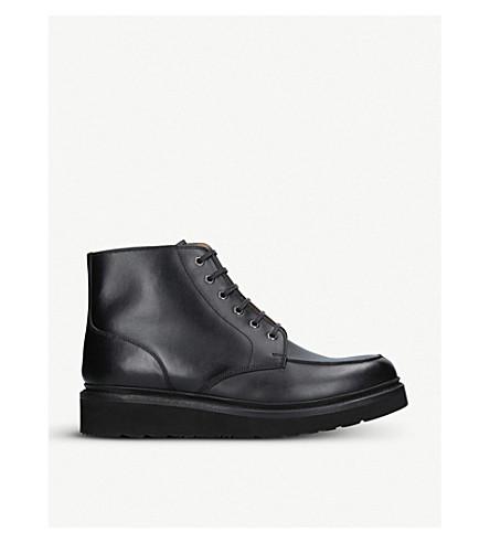 GRENSON 靴子皮鞋 (黑色