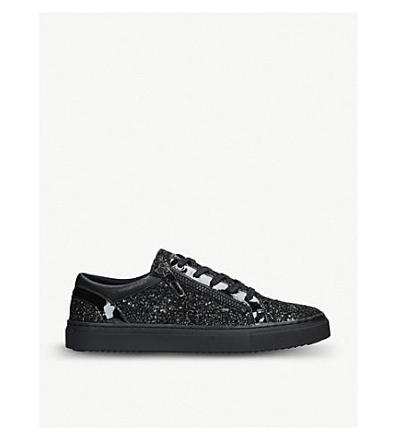 KG KURT GEIGER Selhurst glitter-embellishment sneakers