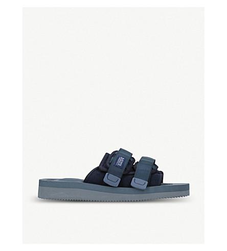 SUICOKE Moto-VS neoprene sandals (Navy