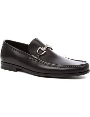 FERRAGAMO Magnifico leather loafers