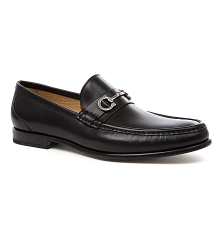 FERRAGAMO Giostra loafers (Black