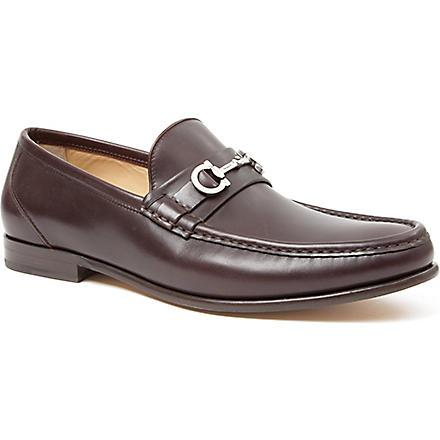 FERRAGAMO Giostra loafers (Brown