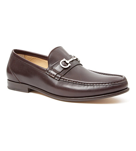 FERRAGAMO Giostra loafers (Brown