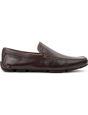 FERRAGAMO Pacifico leather loafers