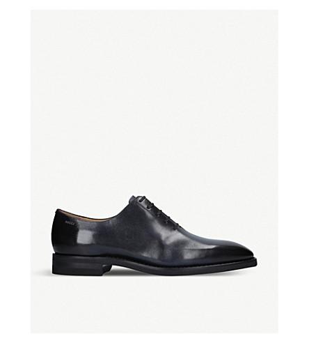 BALLY Skilton wholecut 牛津鞋履 (海军