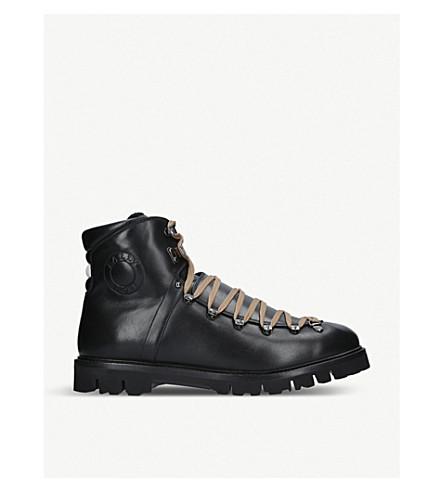 BALLY Chack shearling boots (Black
