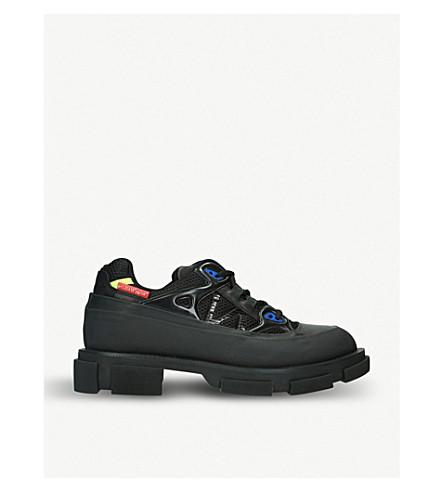BOTH高转轮皮革运动鞋 (黑色