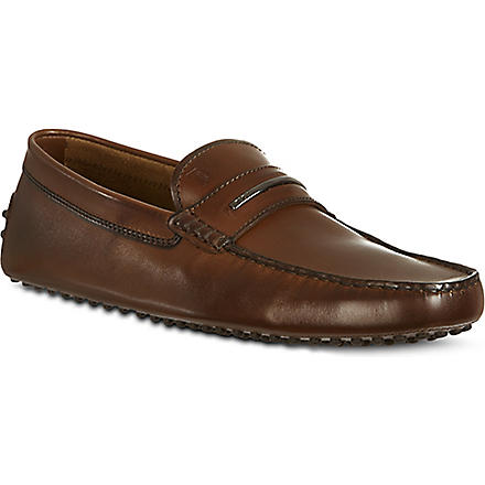 TODS Slim driving shoes (Brown